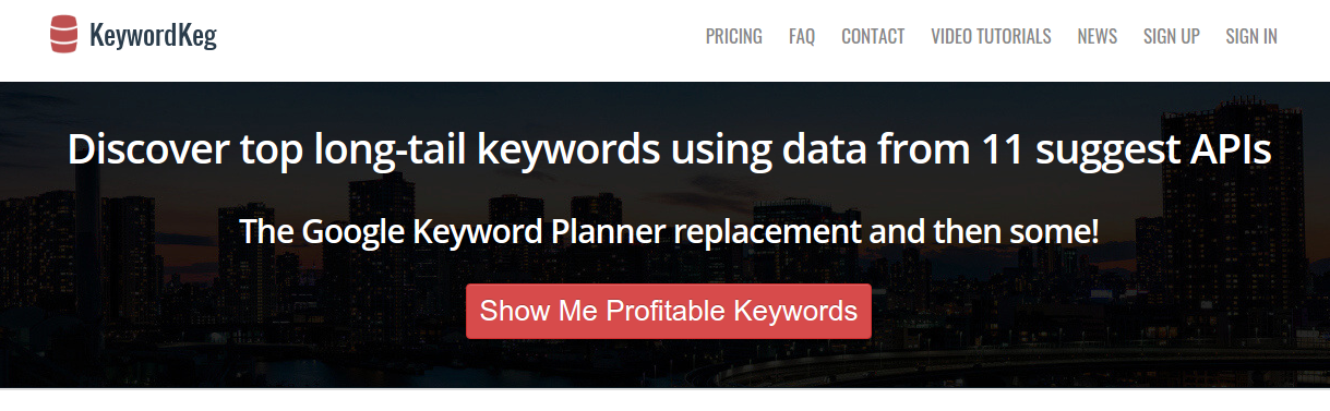 Online Keyword Suggestion Tool Keyword Keg