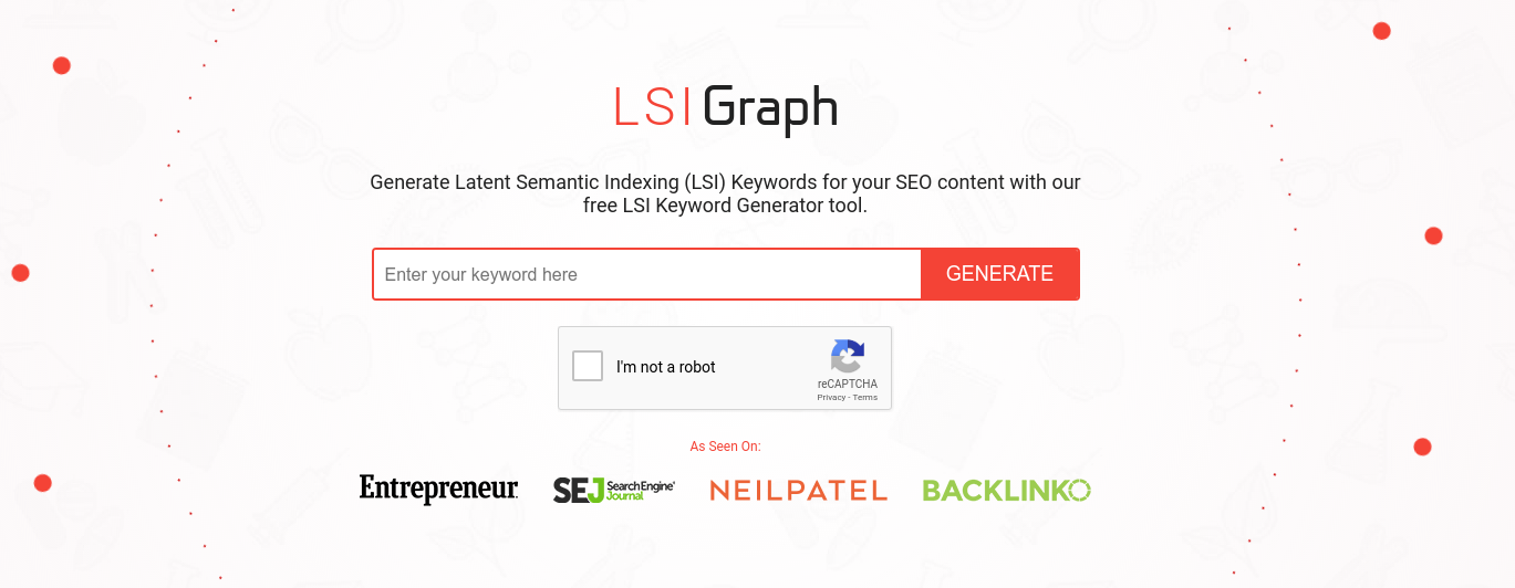 latent semantic indexing or related keyword research