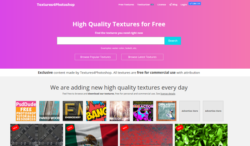Textures4Photoshop - High Quality Textures for Free